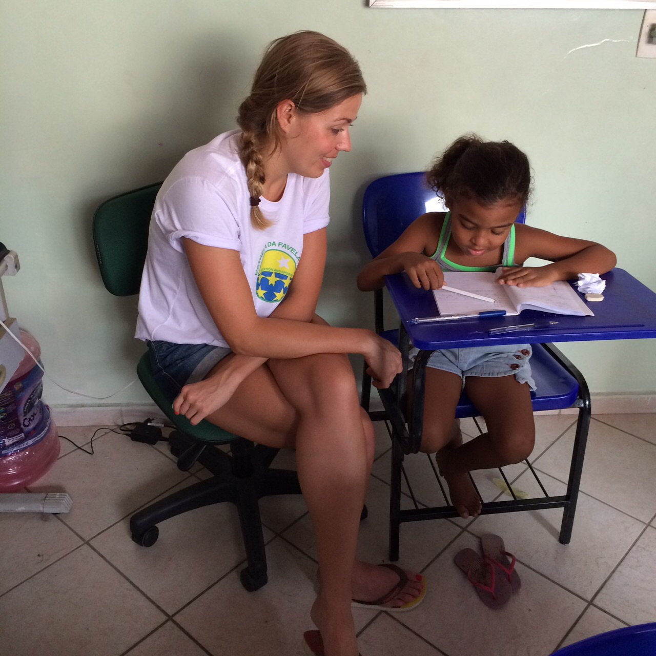 volunteers Estrela da Favela