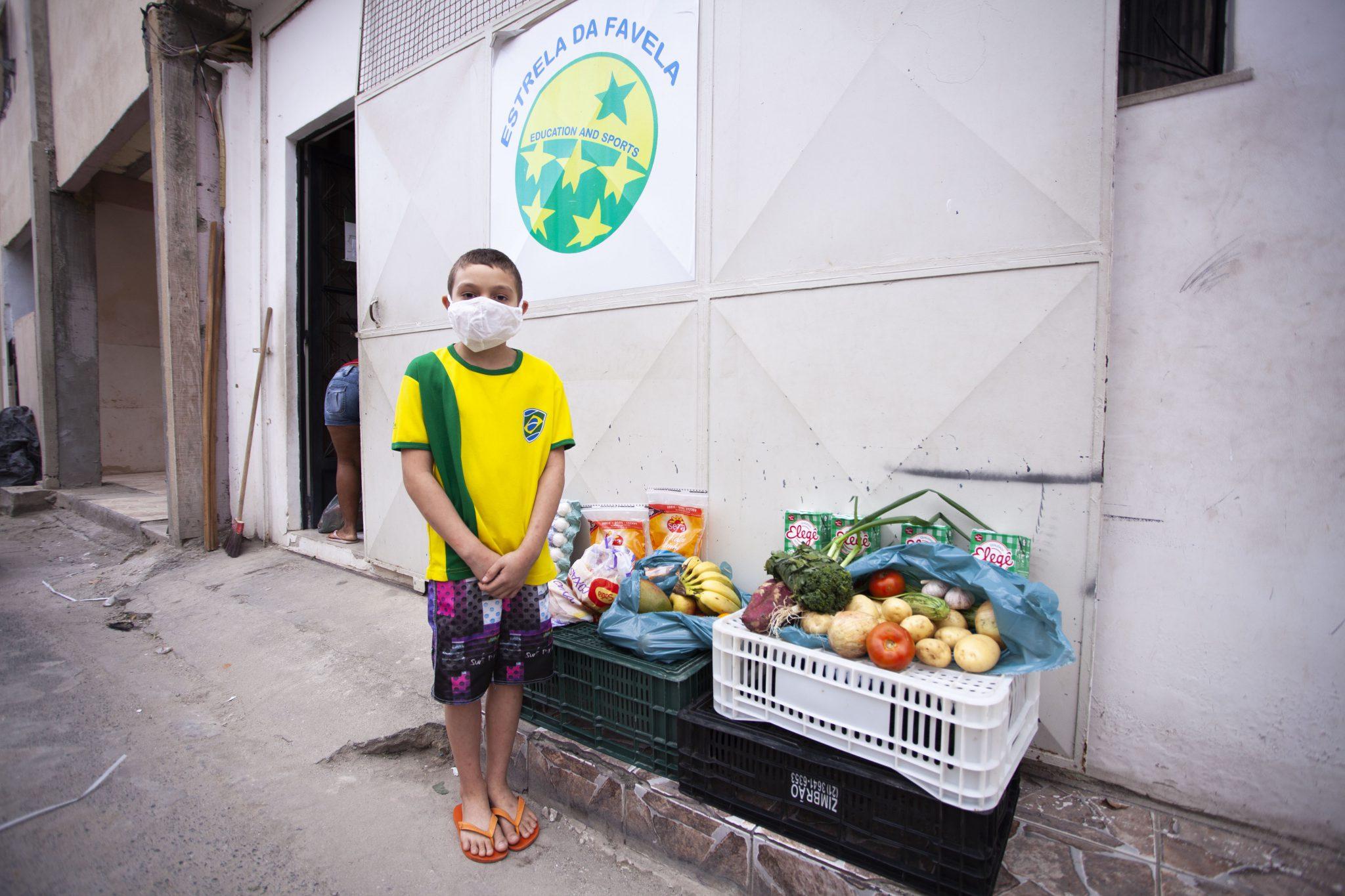 Voedselpakket Estrela da Favela